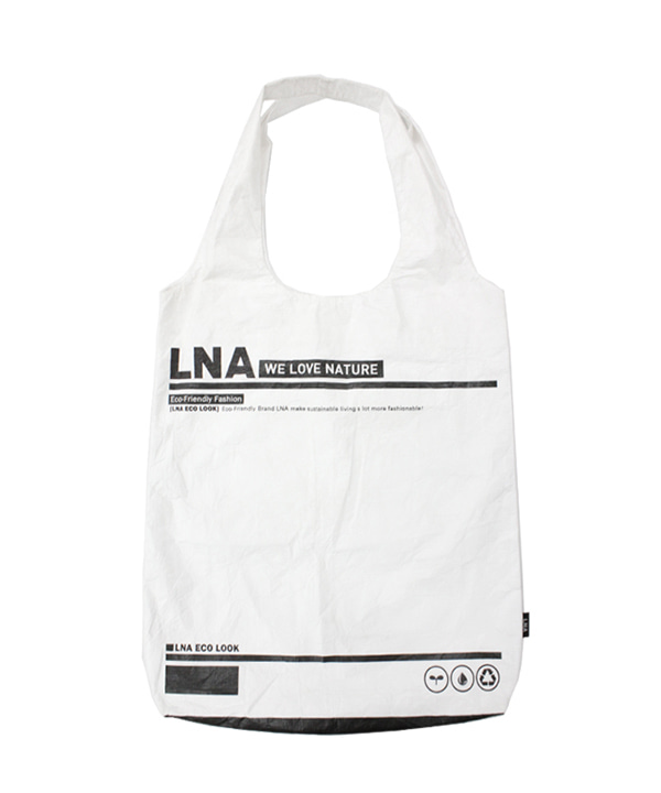 LNA ECO BAG WHITE